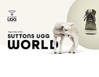 Suttons UGG Australia brand redesign