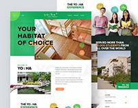 Hostel Website Design