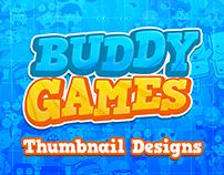 Custom Thumbnails Designs for BuddyGames