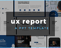 UX Product Design and Research Report for PowerPoint