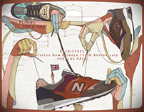 Celebration New Balance 110th Anniversary