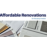 Affordable Renovations for the Savvy Investor