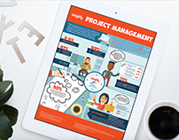 Insightly - Project Management Infographic