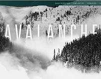 Avalanche - Website Design