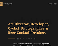 My personal Website, Portfolio & Blog — David Hellmann