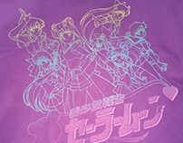 Sailor Moon Silkscreen