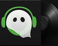 Ghost Tunes (Logo, Web, IOS & Android Design)