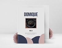 DOMIQUE Food Magazine & Cookbook