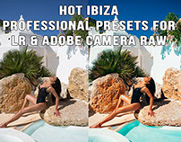 Hot Ibiza pro presets for adobe LR & ACR