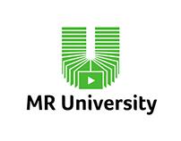 Logo and branding for MR University