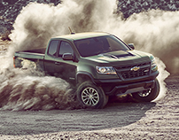 CHEVROLET COLORADO ZR2 IMAGERY