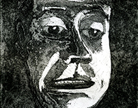 Aquatint Face