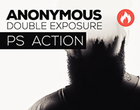 Anonymous Double Exposure Action