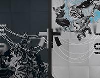 META (ボ) LISM – Diptych (Poster) Design