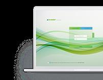 E-Sınav Landing Page Design