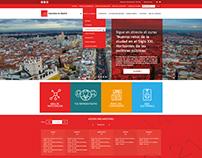 Diseño Web para Asamblea de Madrid