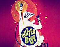 Butter Boy Gig Poster
