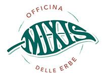 Mixis - Officina delle erbe - Logo design