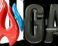 Logotipo 3D - Rendering