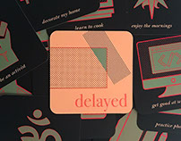 Delayed | card series