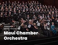 Maui Chamber Orchestra Branding & Website