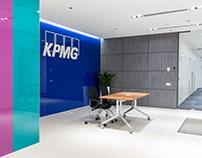 Interior photoshoot of KPMG office in Kyiv, Ukraine