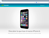 Diseño Web Preventa iPhone 6 - 2014