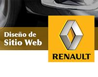Diseño de Sitio Web Renault