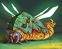 Larva Tank - #CharacterDesignChallenge