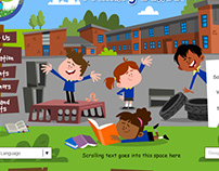 Primary School website designs