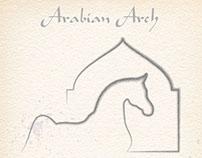 Arabian Arch Horse Art