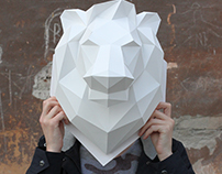 The lion head DIY