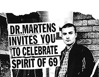 Dr Martens Spirit of 69 Launch