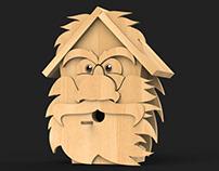 OldMan BirdHouse