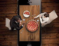 Pizza Pizza mobile app poster