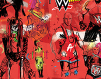 WWE Magazine: Raw special issue cover illustration