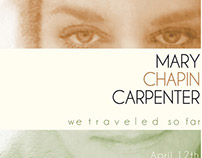 Mary Chapin Carpenter | Tour Admat