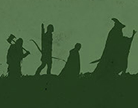 The Lord of the Rings Posters Set