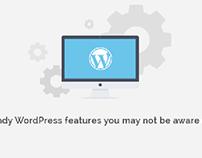 Handy WordPress features