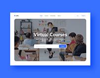 UX/UI Website Design (Education/LMS)