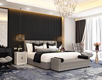 Black Bedroom - Concept