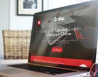 Sribu.com Landingpage Web Design