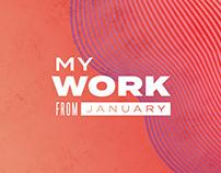 January at Vibrant Agency - My work