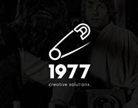 1977 studio - Logo design