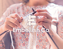 Embellish Co. : Logo Design