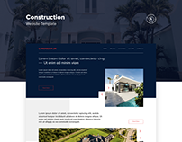 Construction Company Web Template