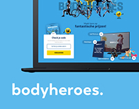 Body&Fit - Bodyheroes leadgeneration campaign