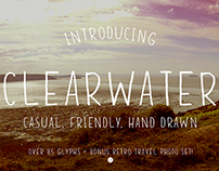 Clearwater Hand Drawn Font