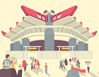 SOCCER ILLUSTRATED - SAN SIRO STADIUM