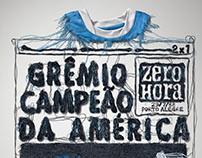 GRÊMIO CAMPEÃO DA AMÉRICA